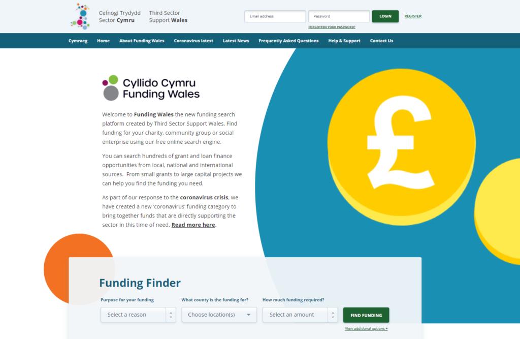 Funding Wales