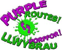 Purple Routes logo