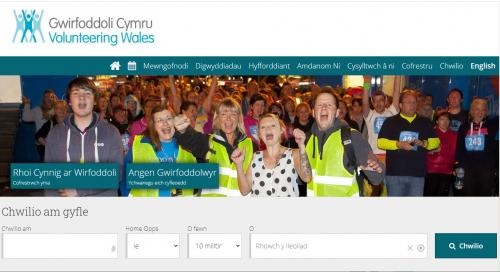 Gwirfoddoli Cymru